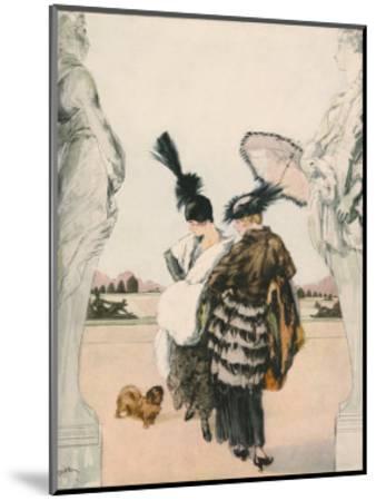 Harper's Bazaar--Mounted Art Print