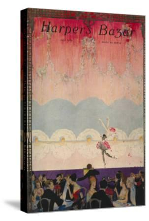 Harper's Bazaar, July 1916--Stretched Canvas Print