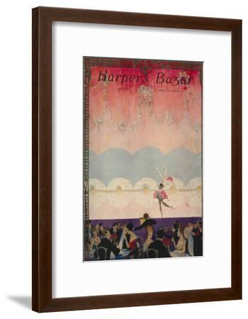 Harper's Bazaar, July 1916--Framed Art Print