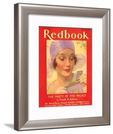 Redbook, July 1930--Framed Art Print