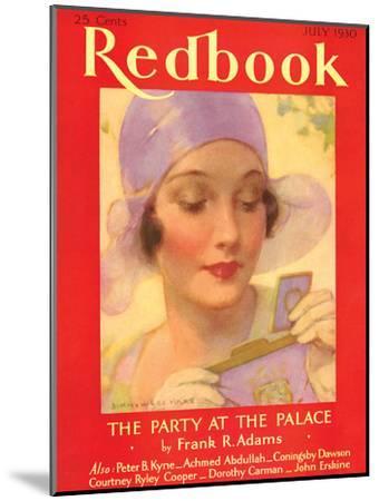 Redbook, July 1930--Mounted Art Print