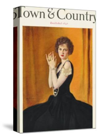 Town & Country, January 1st, 1923--Stretched Canvas Print