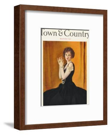 Town & Country, January 1st, 1923--Framed Art Print