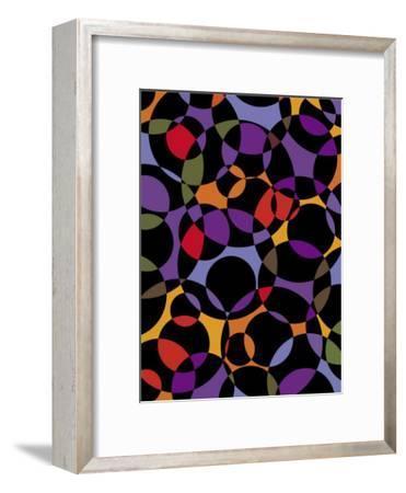 Circle Texture--Framed Art Print