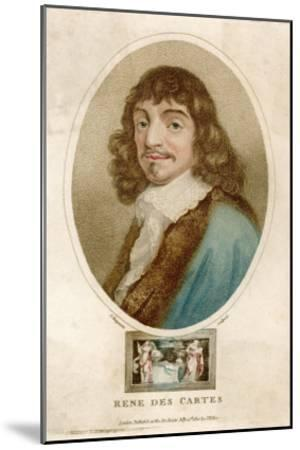 Rene Descartes French Mathematician and Philosopher-J^ Chapman-Mounted Giclee Print