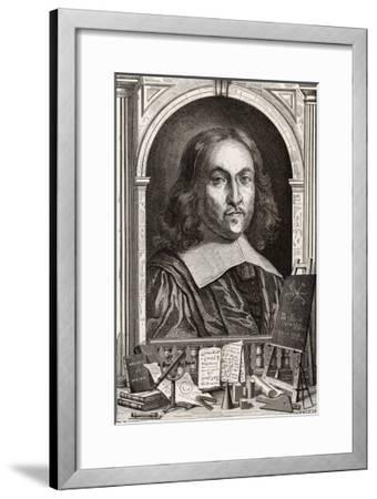 Pierre De Fermat French Mathematician-Louis Figuier-Framed Giclee Print