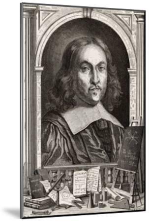 Pierre De Fermat French Mathematician-Louis Figuier-Mounted Giclee Print