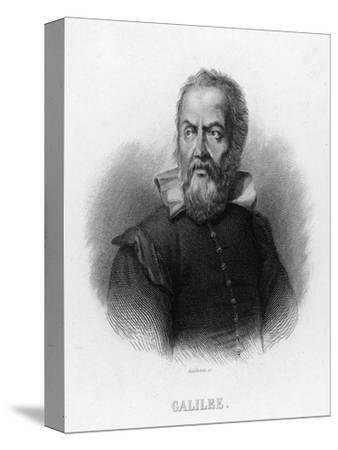 Galileo Galilei Italian Astronomer- Audibran-Stretched Canvas Print