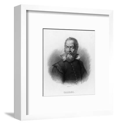 Galileo Galilei Italian Astronomer- Audibran-Framed Premium Giclee Print