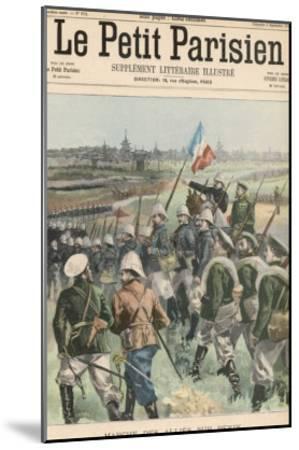 Boxer Rebellion the Allies Advance on Peking- Carrey-Mounted Giclee Print
