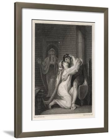 Odysseus Returns to His Wife Penelope-Issac Taylor-Framed Giclee Print