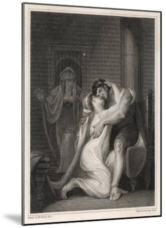Odysseus Returns to His Wife Penelope-Issac Taylor-Mounted Giclee Print