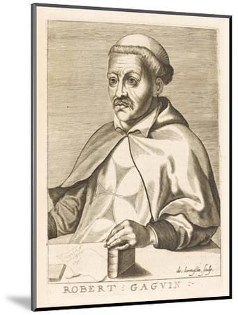 Robert Gaguin French Historian-Nicolas de Larmessin-Mounted Giclee Print