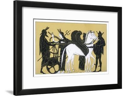 Neptune with His Chariot and Winged Horses- Decharme-Framed Giclee Print