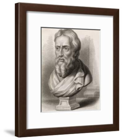 Herodotus Greek Historian-S. Freeman-Framed Giclee Print
