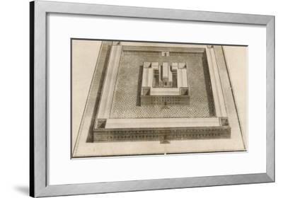 The Temple of Solomon-Dom Augustin Calmet-Framed Giclee Print