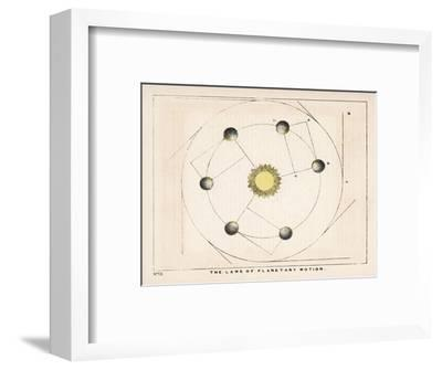 The Laws of Planetary Motion-Charles F^ Bunt-Framed Giclee Print