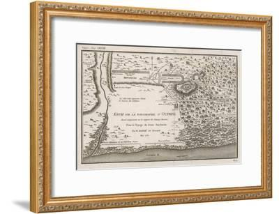 Ancient Olympic Stadium-Barbie Du Bocage-Framed Giclee Print