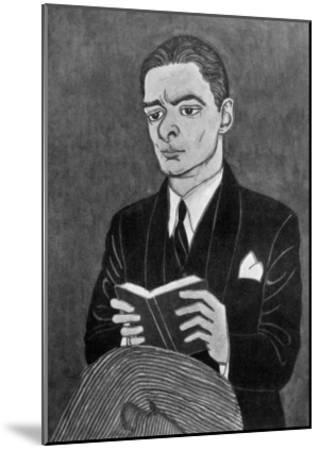 Thomas Stearns Eliot American Writer-Powys Evans-Mounted Giclee Print