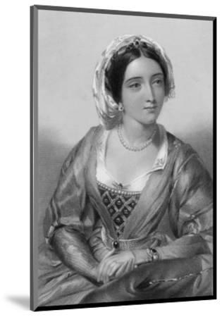 Queen of Edward I Daughter of Ferdinand III of Castile and Joan of Ponthieu-W.h. Egleton-Mounted Premium Giclee Print