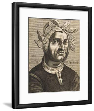 "Jacopo Sannazaro Italian Writer Known for His ""Arcadia"" Derived from Virgil-Nicolas de Larmessin-Framed Giclee Print"