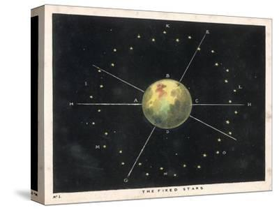 The Fixed Stars-Charles F^ Bunt-Stretched Canvas Print