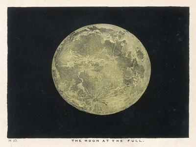 The Moon at the Full-Charles F^ Bunt-Stretched Canvas Print