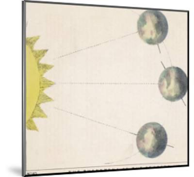 The Phenomena of the Seasons, Number One-Charles F^ Bunt-Mounted Giclee Print
