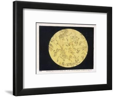Constellations of the Southern Hemisphere-Charles F^ Bunt-Framed Giclee Print