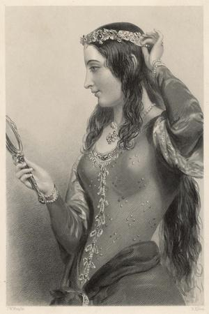 Eleanor of Provence Queen of Henry III and Mother of Edward I of England-B. Eyles-Stretched Canvas Print