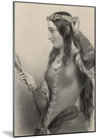 Eleanor of Provence Queen of Henry III and Mother of Edward I of England-B. Eyles-Mounted Giclee Print