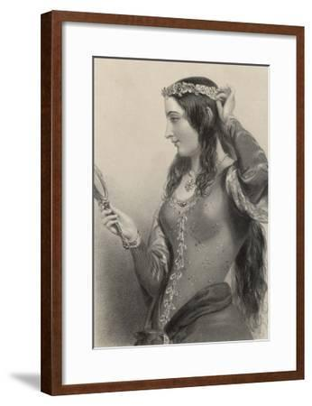Eleanor of Provence Queen of Henry III and Mother of Edward I of England-B. Eyles-Framed Giclee Print