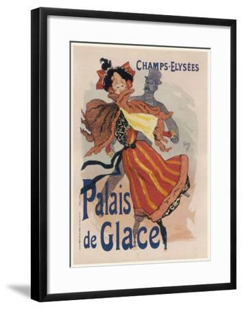 Poster for the Fashionable Palais De Glace in the Champs Elysees Paris--Framed Giclee Print