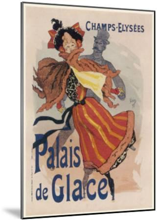Poster for the Fashionable Palais De Glace in the Champs Elysees Paris--Mounted Giclee Print