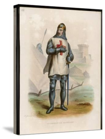 Godefroi De Bouillon Duc De Lorraine Crusader Chosen King of Jerusalem- Boilly-Stretched Canvas Print