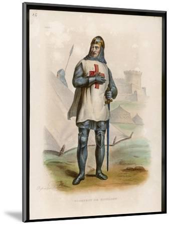 Godefroi De Bouillon Duc De Lorraine Crusader Chosen King of Jerusalem- Boilly-Mounted Giclee Print