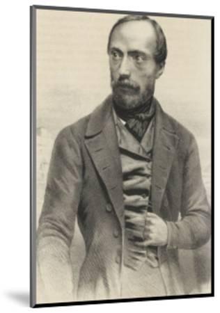 Giuseppe Mazzini Italian Patriot-Ferdinand Perrin-Mounted Giclee Print
