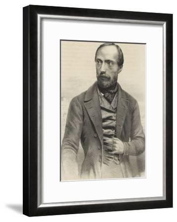 Giuseppe Mazzini Italian Patriot-Ferdinand Perrin-Framed Giclee Print