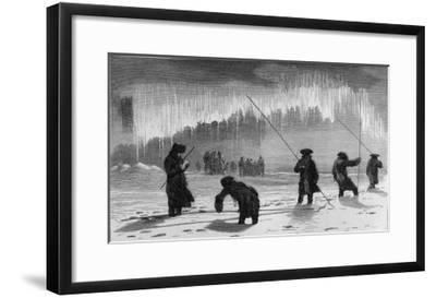 Maupertuis in Lapland-J. Ansseau-Framed Giclee Print