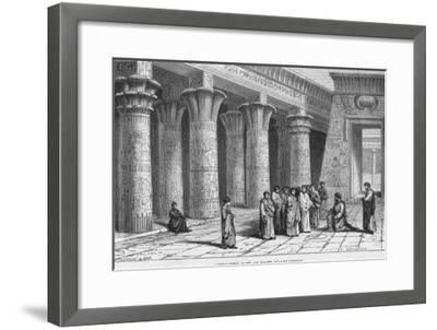 Greek of Asia Minor Philosopher and Reputed One of the Greatest Magicians of All Time-Alexandre Bar-Framed Giclee Print