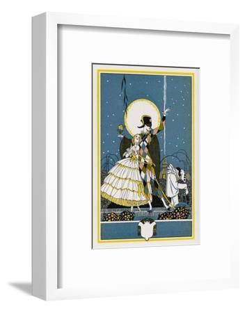 Harlequin and Columbine-John Austen-Framed Giclee Print
