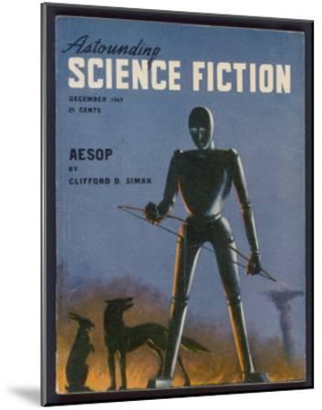 Aesop, a Rather Sad-Looking Robot- Alejandro-Mounted Giclee Print