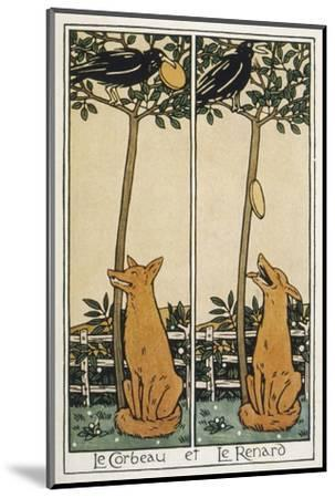 The Fox and the Crow-T^c^ Derrick-Mounted Giclee Print