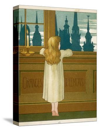 Oranges and Lemons Say the Bells of St. Clement's-Edward Hamilton Bell-Stretched Canvas Print