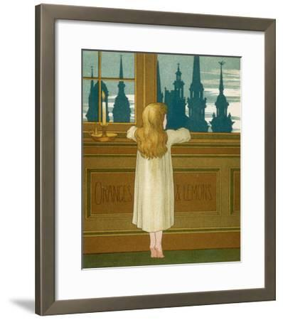 Oranges and Lemons Say the Bells of St. Clement's-Edward Hamilton Bell-Framed Giclee Print