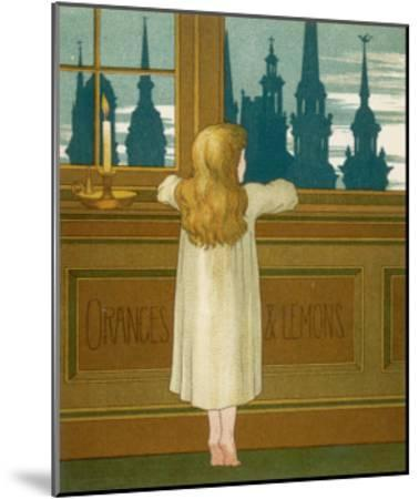 Oranges and Lemons Say the Bells of St. Clement's-Edward Hamilton Bell-Mounted Giclee Print