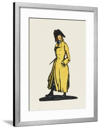 Sydney Carton, Lawyer-Claud Lovat Fraser-Framed Giclee Print