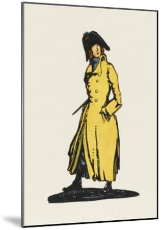 Sydney Carton, Lawyer-Claud Lovat Fraser-Mounted Giclee Print