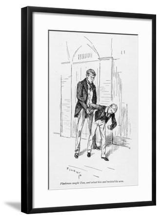 Flashman and Tom-Edmund J^ Sullivan-Framed Giclee Print