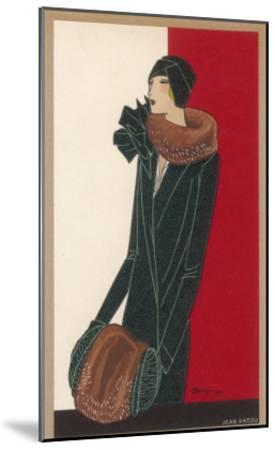 Coat by Patou-C. Benigni-Mounted Giclee Print